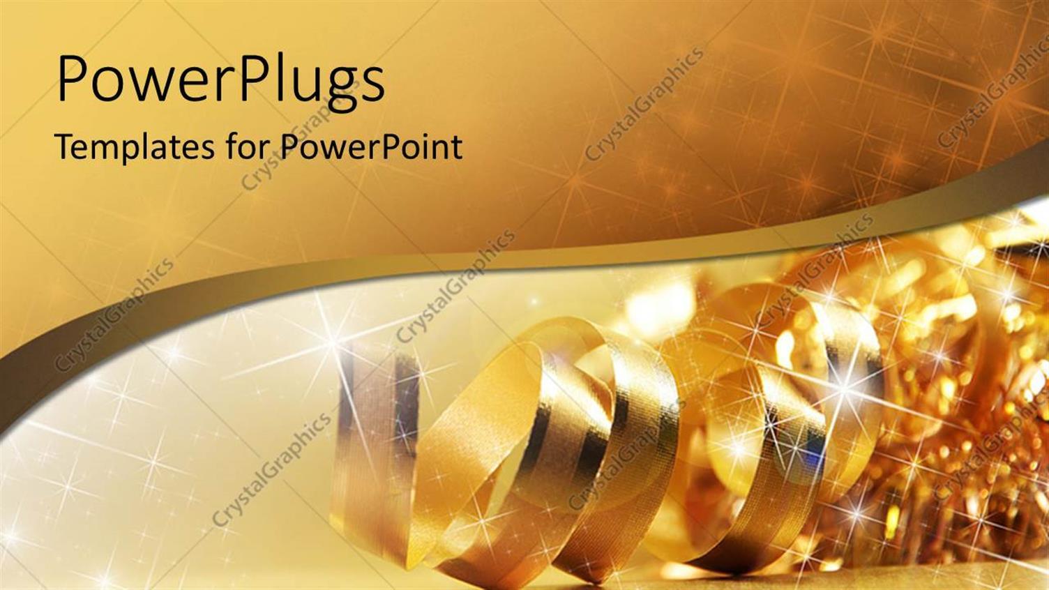 Black and gold powerpoint template idealstalist black toneelgroepblik Choice Image