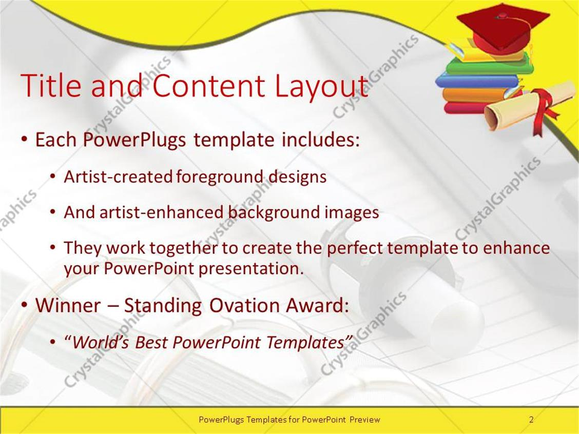 Education Subjects  A PowerPoint Template from