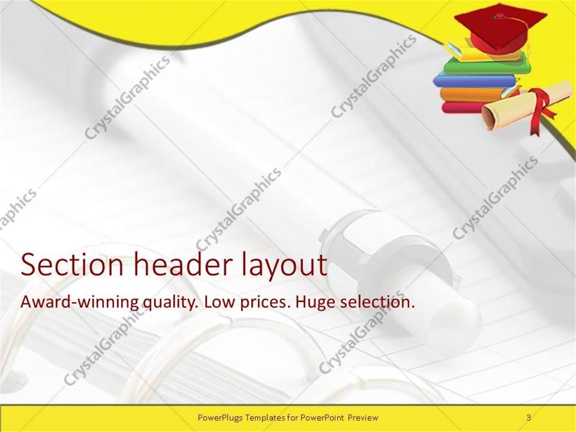 generous graduation powerpoint template gallery - resume ideas, Powerpoint templates