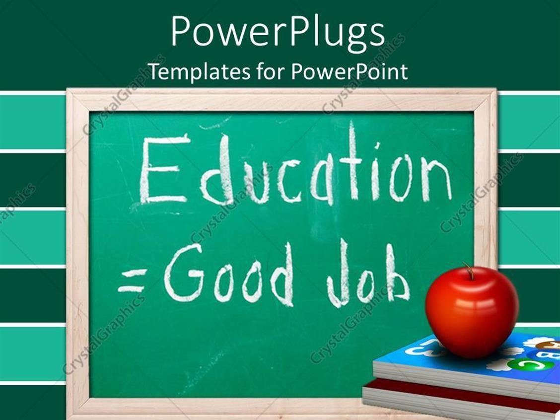 green chalkboard background powerpoint