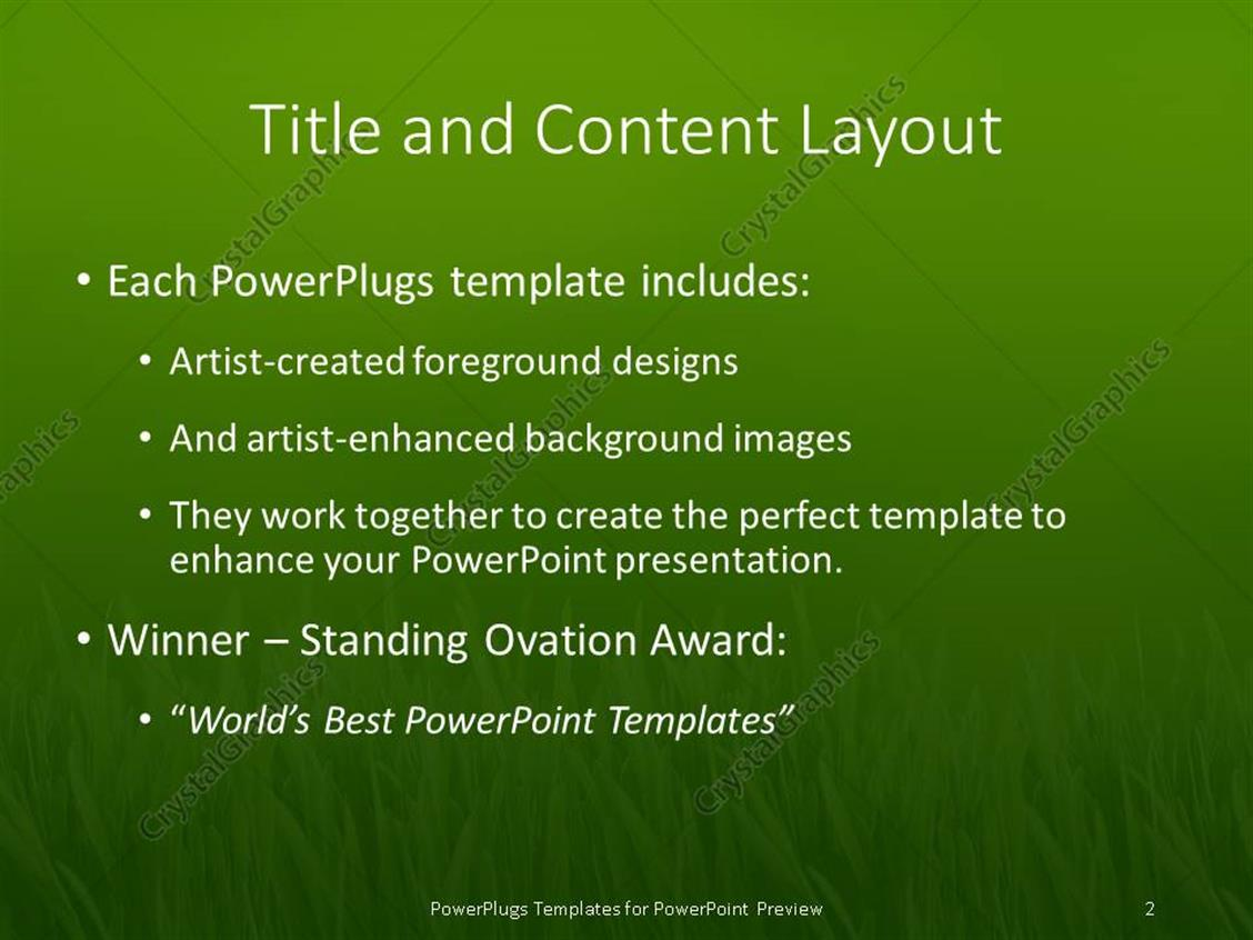 Culinary powerpoint templates image collections templates award winning powerpoint templates gallery templates example 100 green and gold powerpoint template powerpoint template green toneelgroepblik Image collections