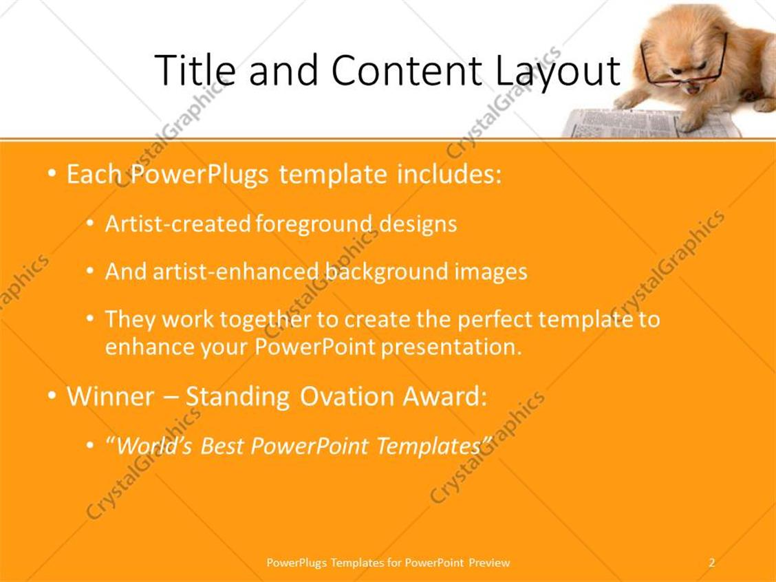 powerpoint templates free download dog gallery - powerpoint, Powerpoint templates