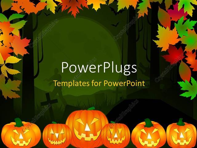 Powerpoint Templates Halloween