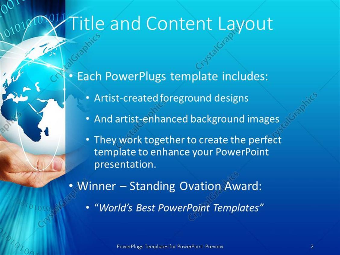 Powerpoint Templates For Communication Presentation