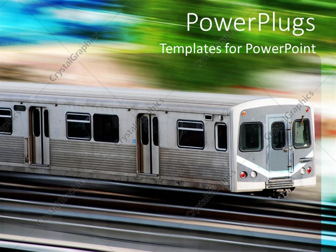 Free high speed train backgrounds for powerpoint car and powerpoint template a high speed train with greenery in the toneelgroepblik Images