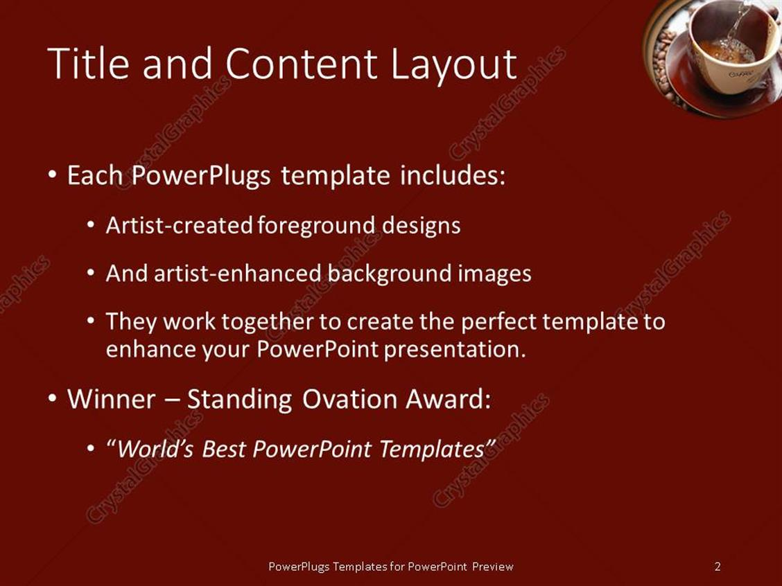 100 powerpoint award templates powerpoint template award powerpoint award templates powerpoint template water is flowing into cup to make coffee toneelgroepblik Image collections