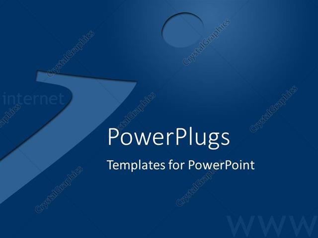 powerpoint template: an information technology background with, Modern powerpoint