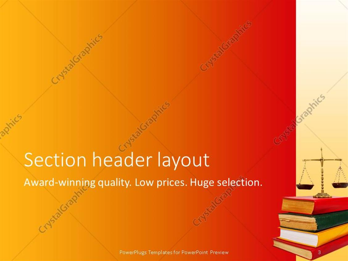 100 book template powerpoint golden free powerpoint book template powerpoint powerpoint template legal theme with scales of justice atop of toneelgroepblik Choice Image