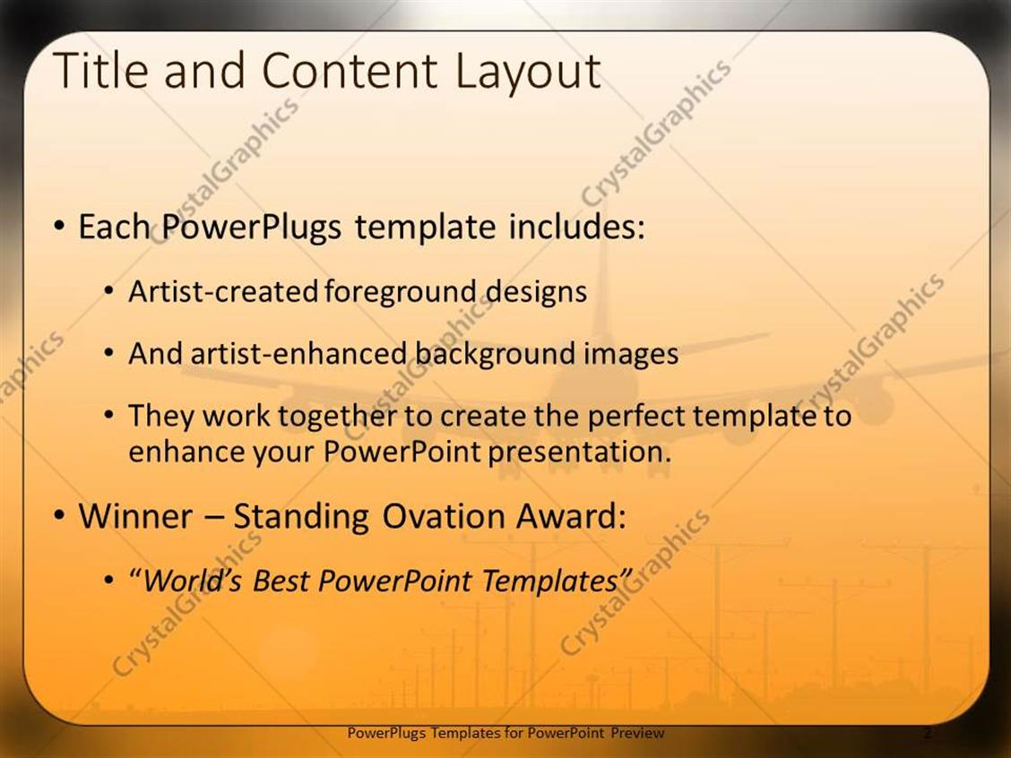 Travel Themed Powerpoint Template