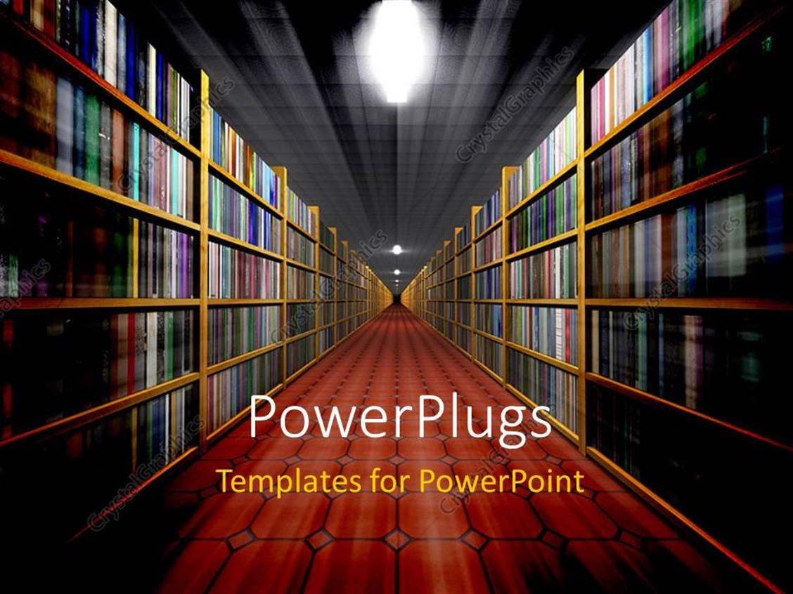 library powerpoint template. library powerpoint template 7743 free, Modern powerpoint