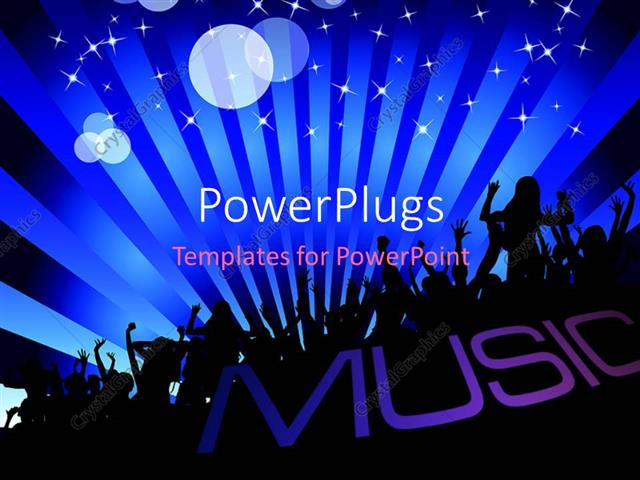 music themed powerpoint templates