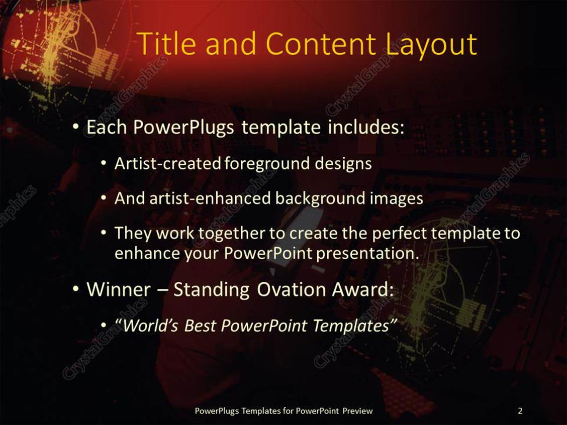 powerpoint template: lots of people working on a ship or submarine, Presentation templates