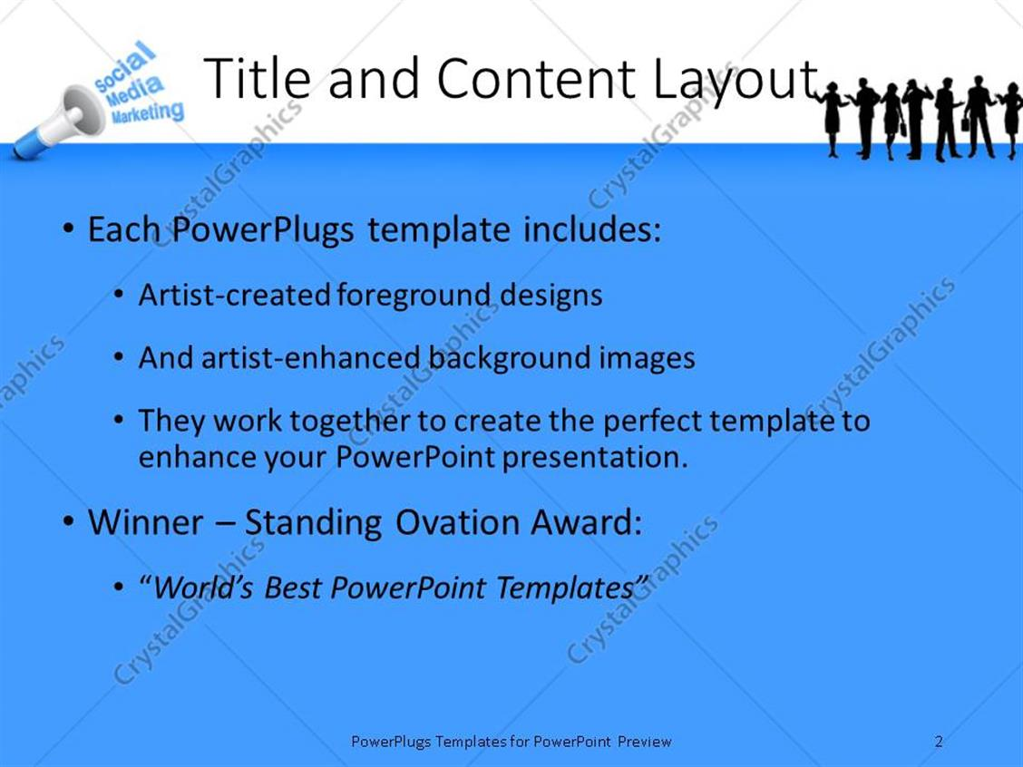 social media powerpoint template choice image - templates example, Presentation templates