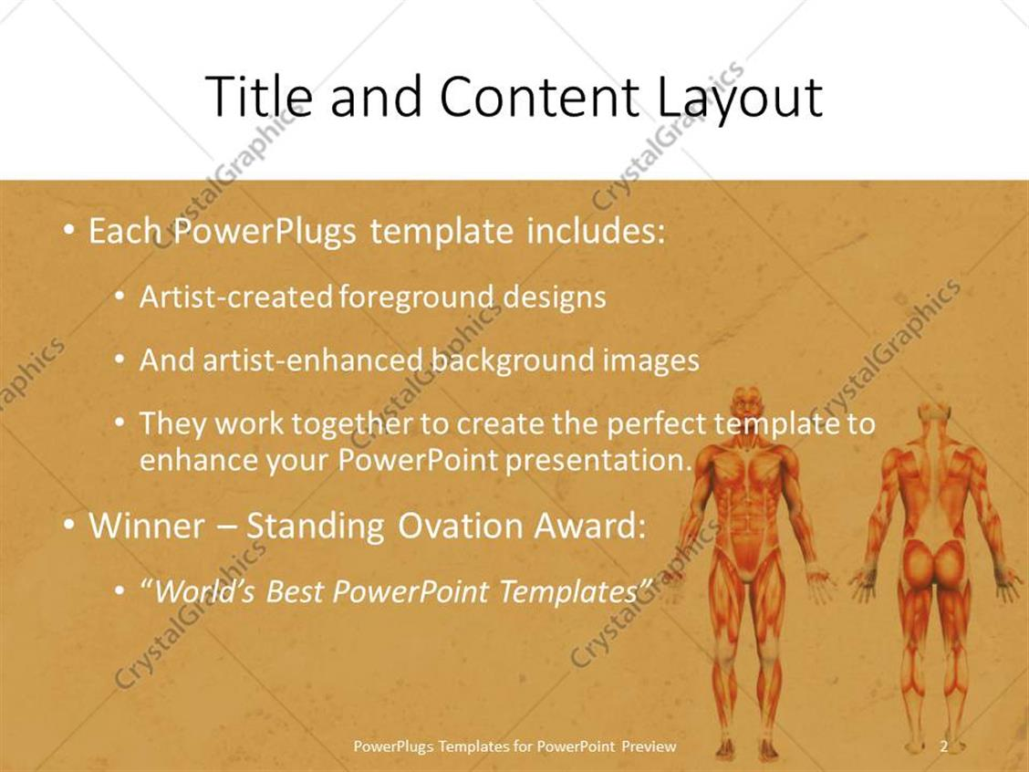 powerpoint templates free download anatomy images - powerpoint, Modern powerpoint