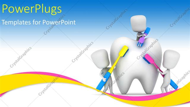 Powerpoint template medical depiction with kids brushing a tooth powerpoint template displaying medical depiction with kids brushing a tooth with multi color toothbrushes toneelgroepblik Gallery