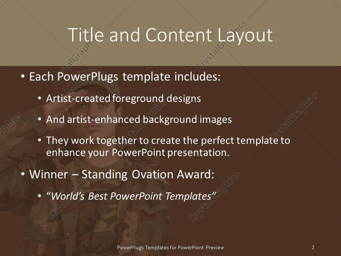 military powerpoint templates images - templates example free download, Modern powerpoint