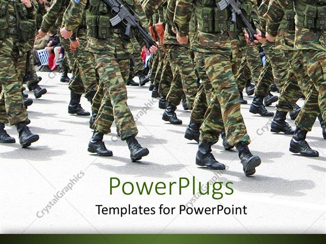 Free military powerpoint templates military tag powerpoint template powerpoint template military parade background depicting soldiers toneelgroepblik Choice Image