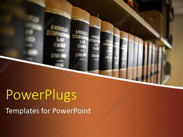 powerpoint template: a number of books in the library (3901), Presentation templates