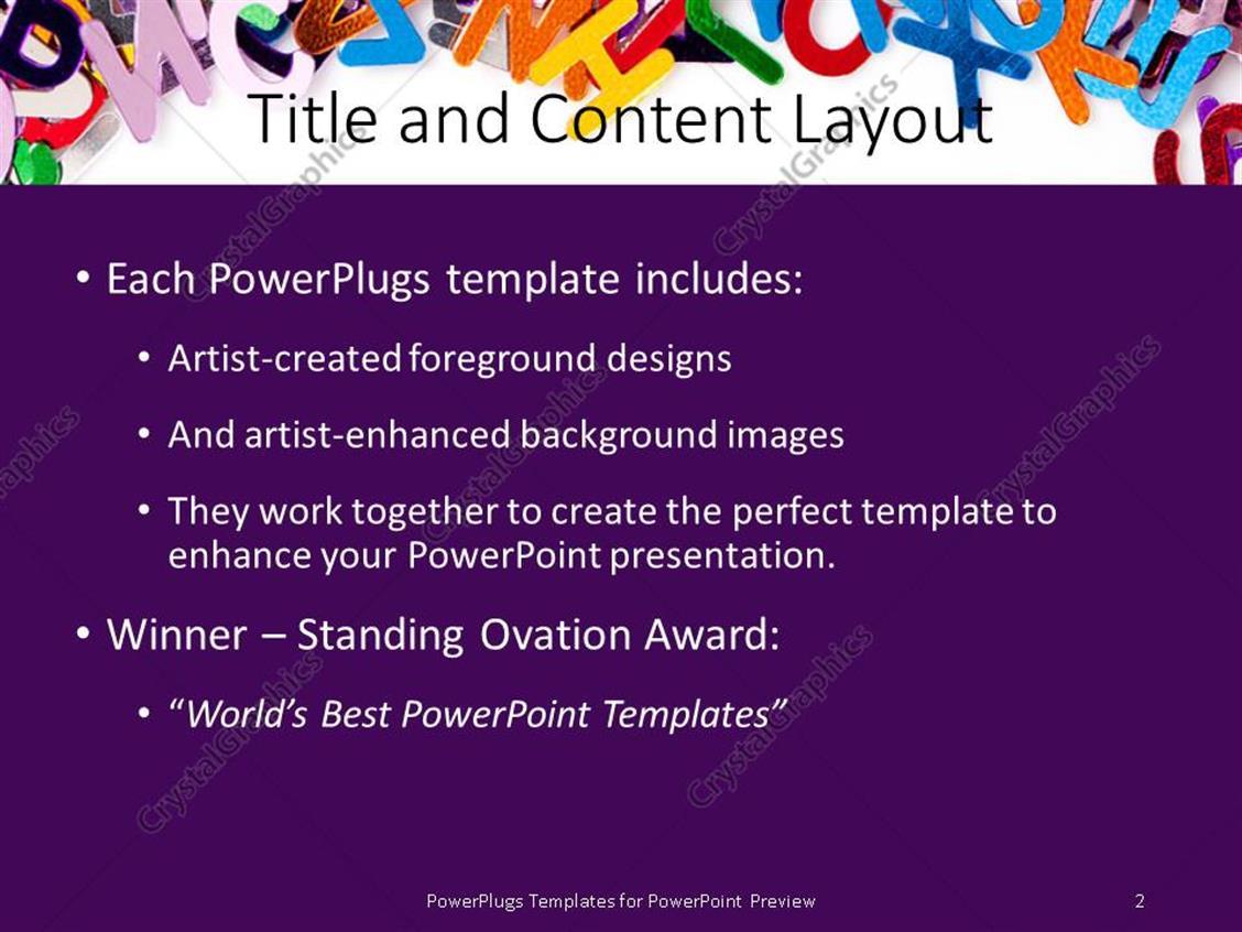 Academic Presentation Powerpoint Template