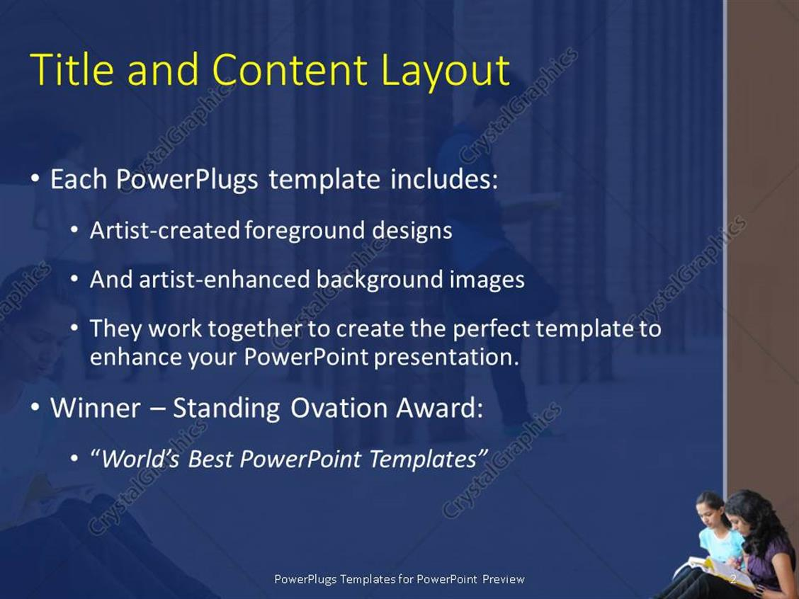 university powerpoint templates image collections - templates, Modern powerpoint