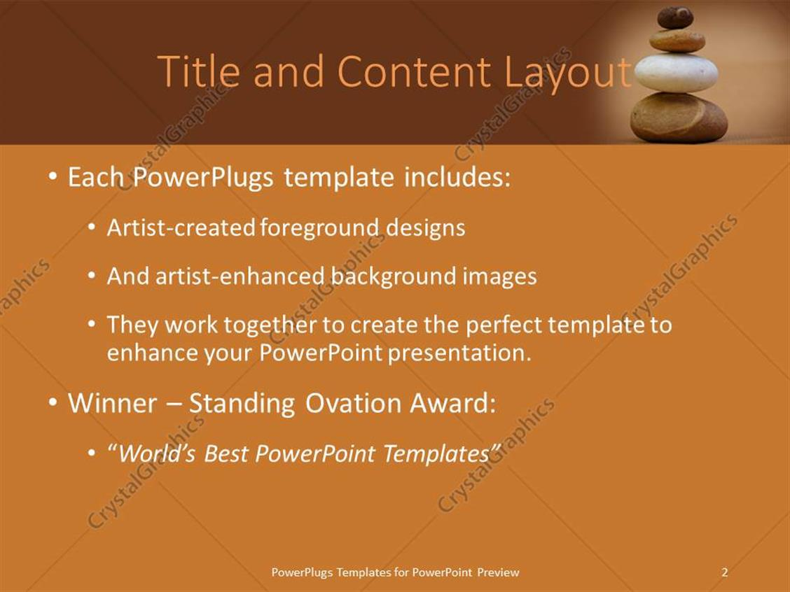 Powerpoint templates zen choice image powerpoint template and layout 100 stones business powerpoint ppt templates ppt powerpoint template a number of zen stones with brownish toneelgroepblik Choice Image