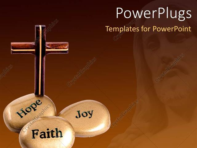 Powerpoint template a number of zen stones and a holy cross 17392 powerpoint template displaying a number of zen stones and a holy cross toneelgroepblik Gallery