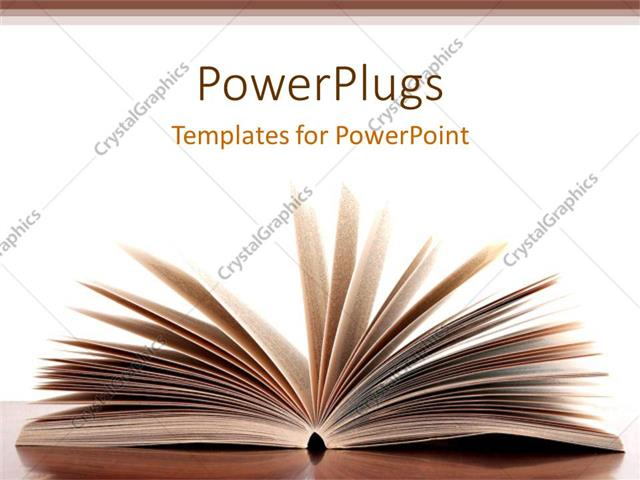 powerpoint background book