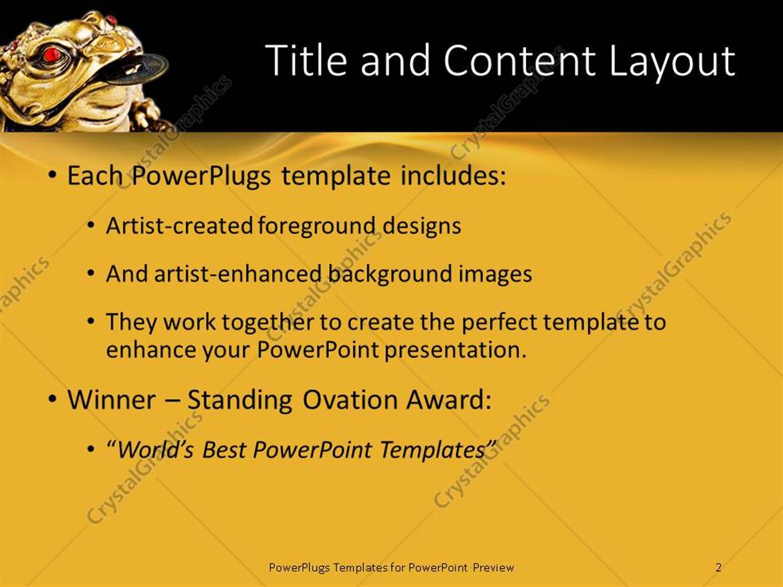 powerpoint template: oriental chinese japanese feng shui metal, Modern powerpoint