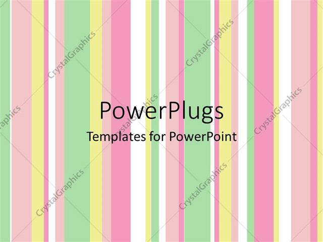 Powerpoint template pastel vertical stripes green yellow pink powerpoint template displaying pastel vertical stripes green yellow pink white toneelgroepblik Gallery