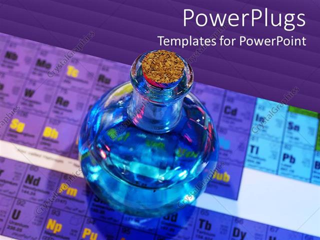 Powerpoint Template: Periodic Chart For Chemistry Science (25970)
