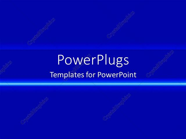 powerpoint template: plain blue gradient with neon line (213), Powerpoint templates