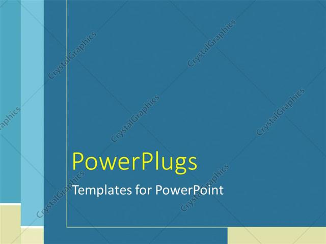 powerpoint template: plain blue, tan, and white line pattern (3652), Powerpoint templates