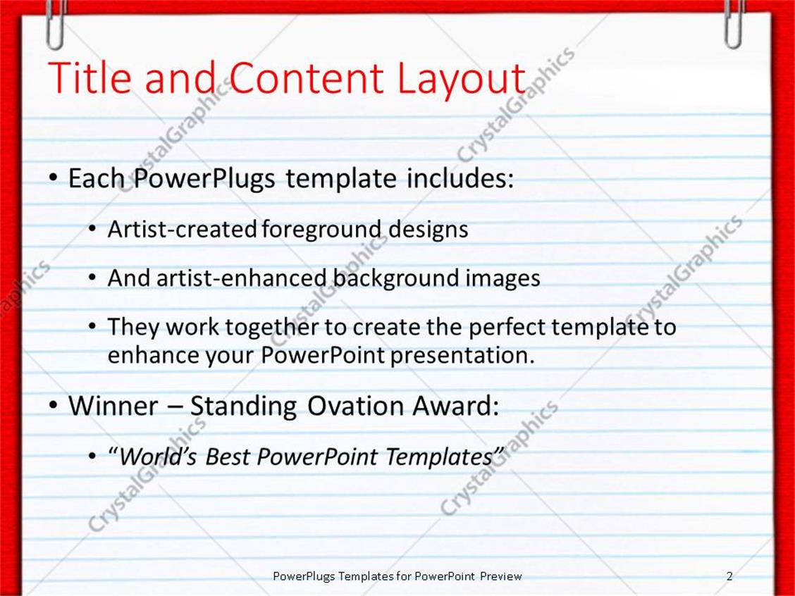 Powerpoint template plane empty school report sheet with two powerpoint products templates secure toneelgroepblik Choice Image