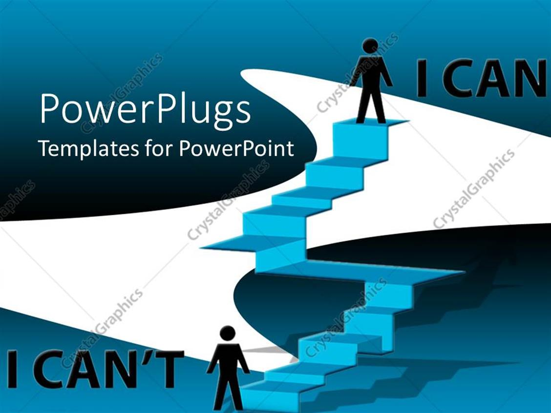 Powerpoint template the power of self confidence to for Self esteem powerpoint templates