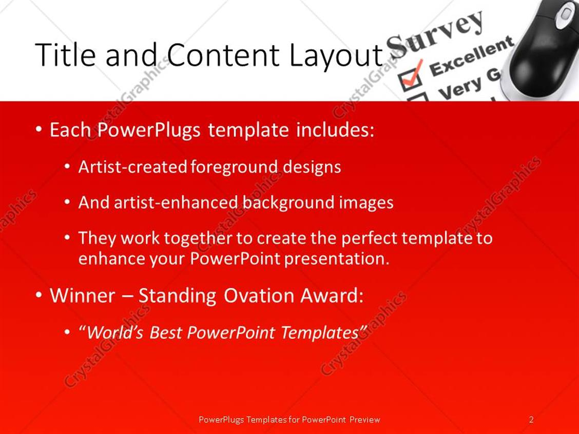 Powerpoint template questionnaire choice image powerpoint powerpoint templates questionnaire choice image powerpoint powerpoint template questionnaire and computer mouse close up powerpoint products toneelgroepblik Gallery