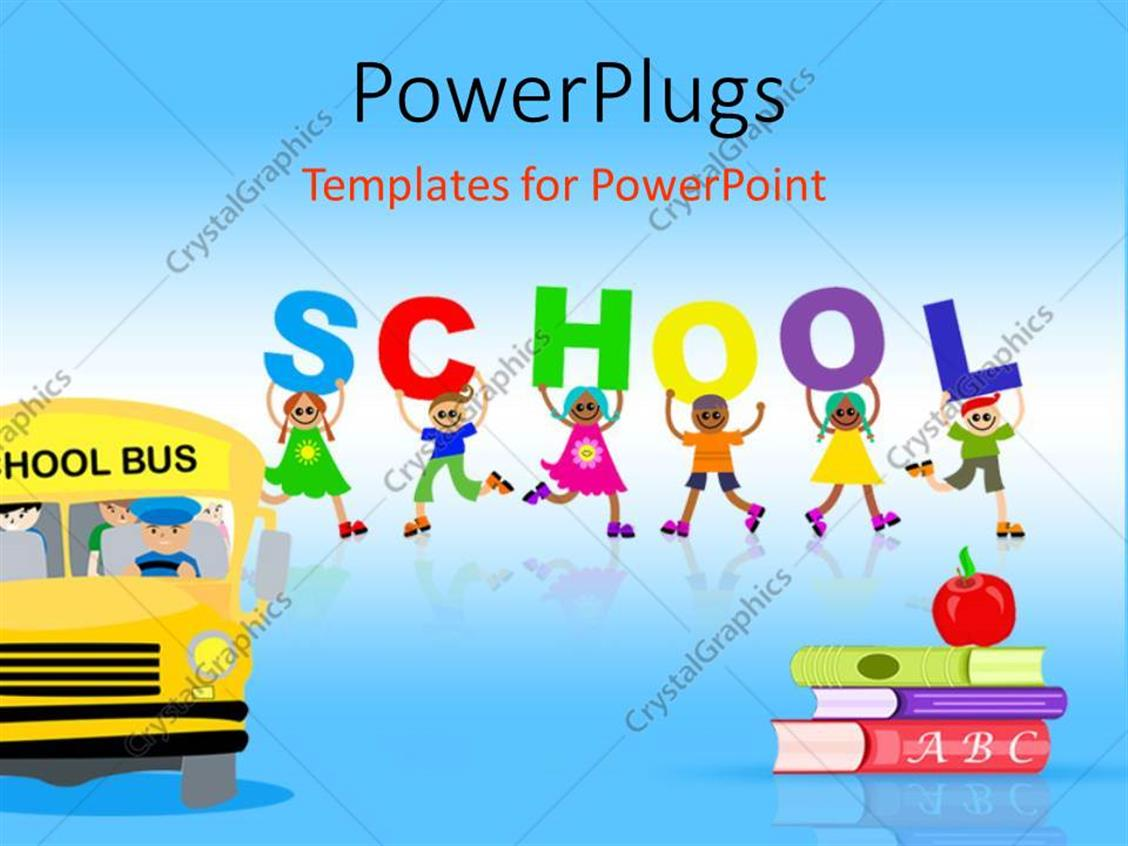school powerpoint template free