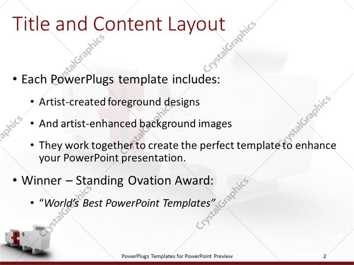 Awesome Puzzle Piece Powerpoint Template Gallery - Examples ...