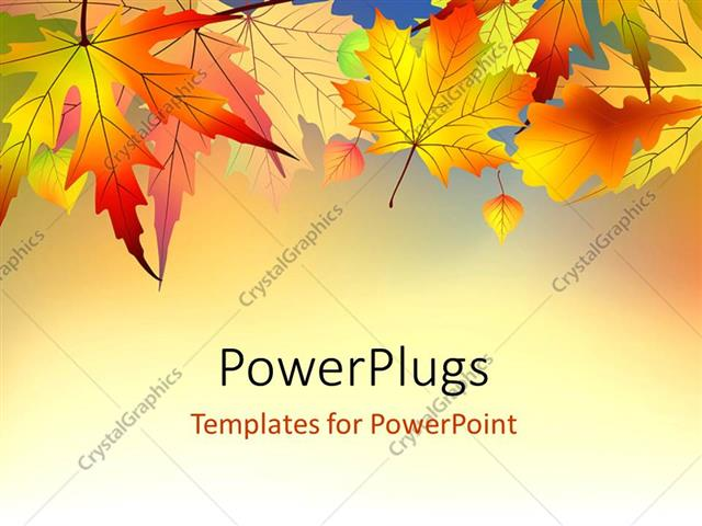 Powerpoint template red and orange autumn leaves on light powerpoint template displaying red and orange autumn leaves on light background toneelgroepblik Choice Image
