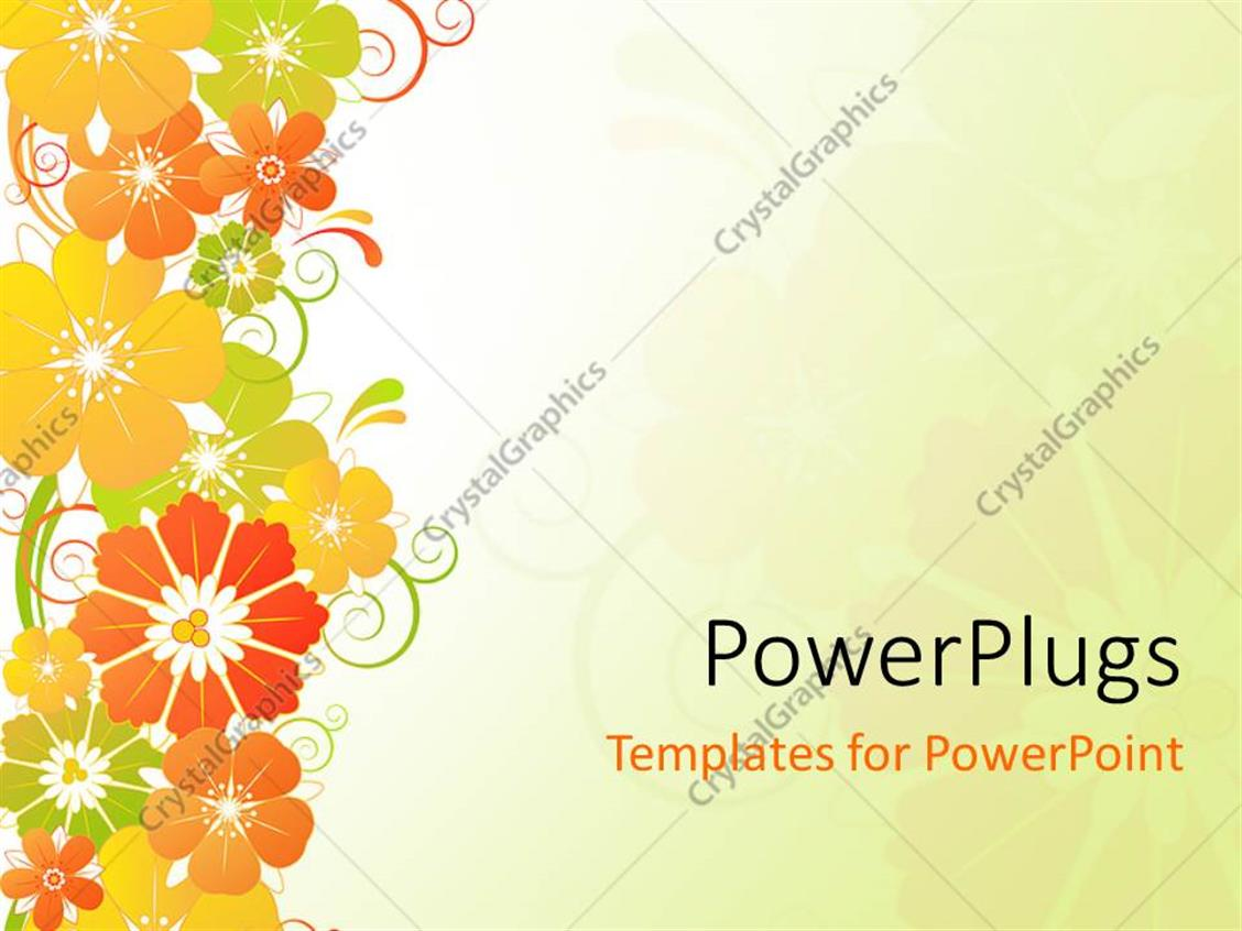 Powerpoint Flower Templates. flowers ppt backgrounds templates ...