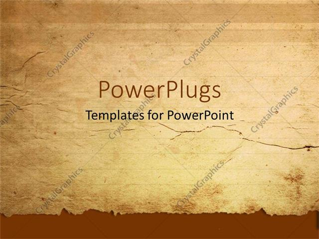 Paper powerpoint template sweatsweatfo powerpoint template a representation of old paper with place for powerpoint toneelgroepblik Images