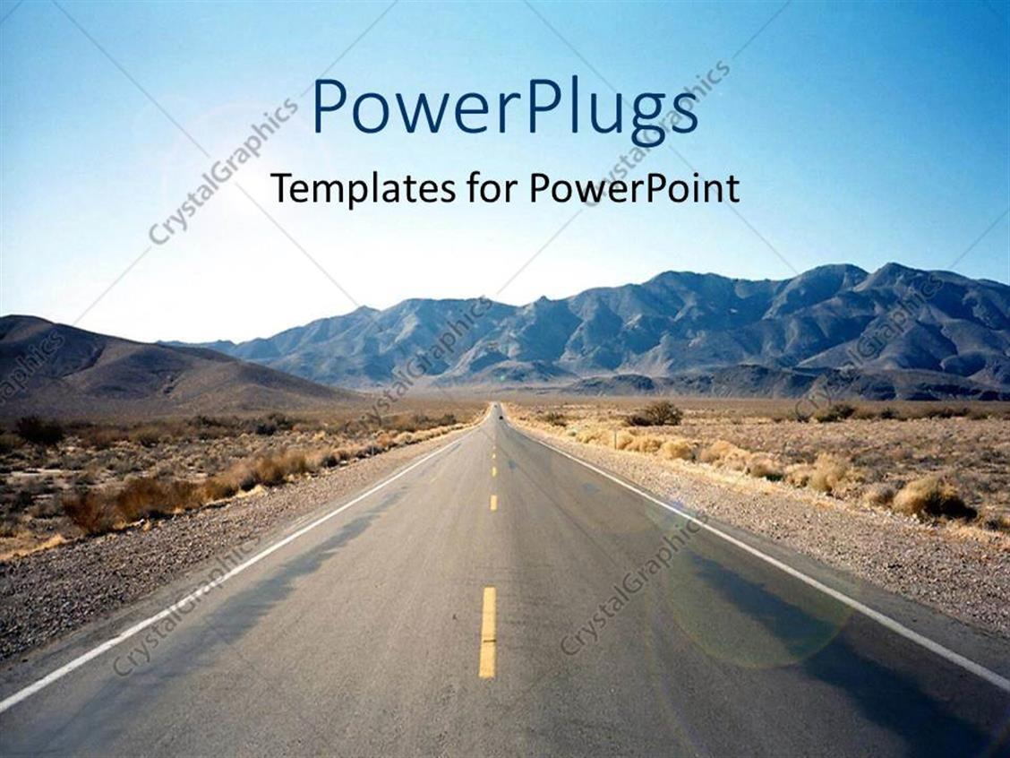 Powerpoint Road Template