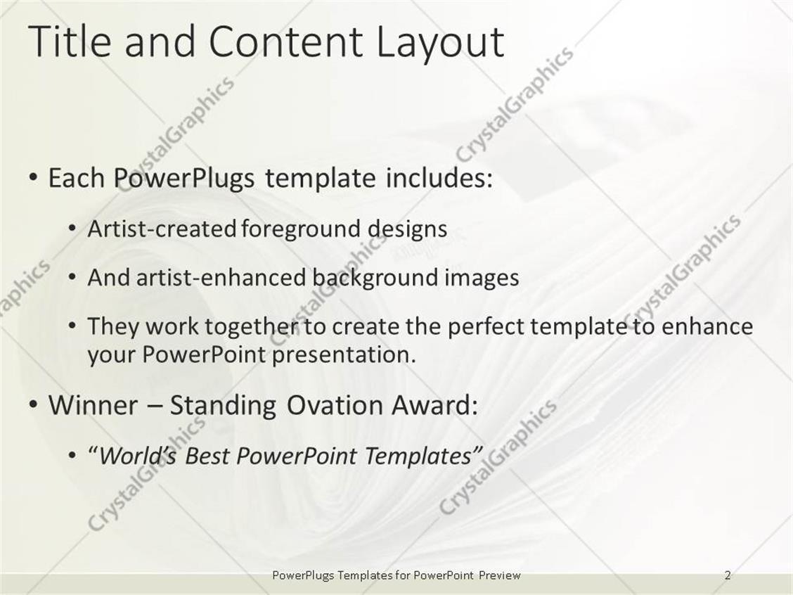 Newspaper Layout Templates Choice Image Templates Design Ideas – Newspaper Powerpoint Template