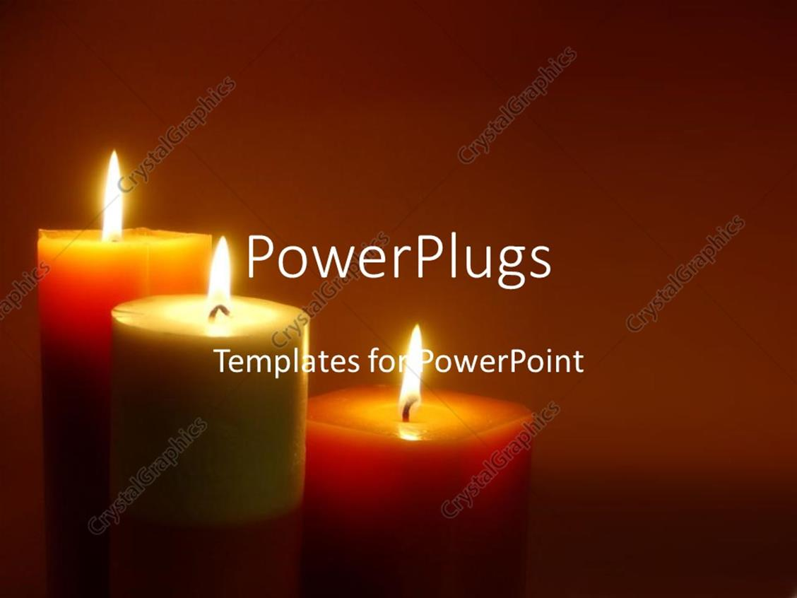 powerpoint template romantic lit candles mediation zen calm relaxation mental health emotions. Black Bedroom Furniture Sets. Home Design Ideas