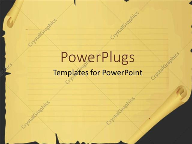 Powerpoint template scrool paper with cuts and tears broken powerpoint template displaying scrool paper with cuts and tears broken paper margins lined paper toneelgroepblik Images