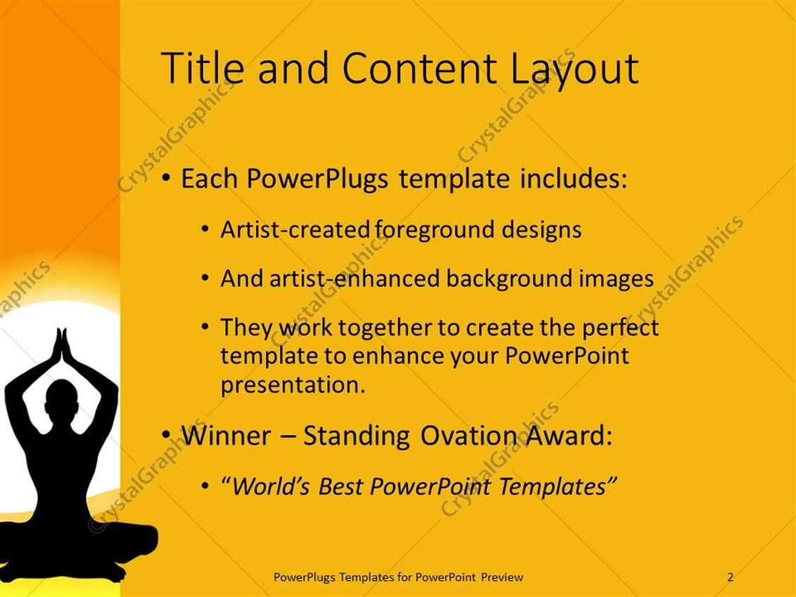 powerpoint templates yoga choice image - powerpoint template and, Presentation templates
