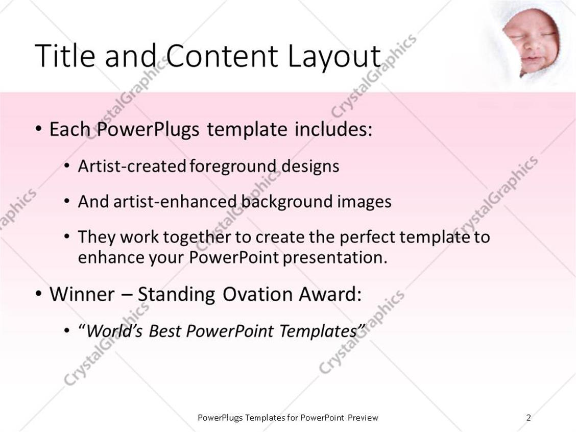 Lovely baby powerpoint template pictures inspiration entry level baby powerpoint presentation template brettfranklin toneelgroepblik Choice Image