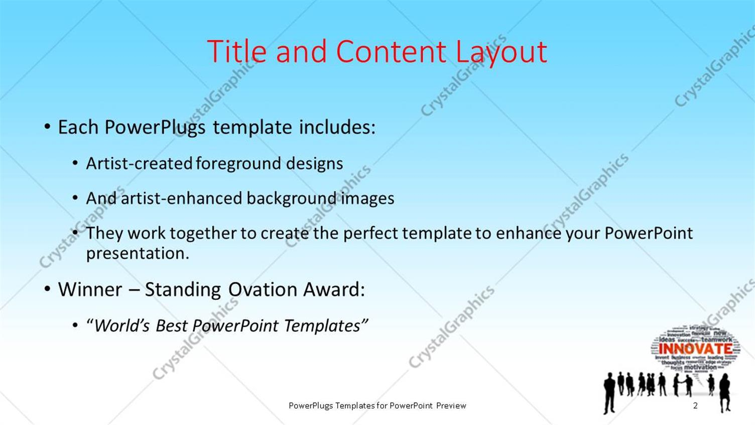 powerpoint template: a silhouette of business men and women with a, Powerpoint templates