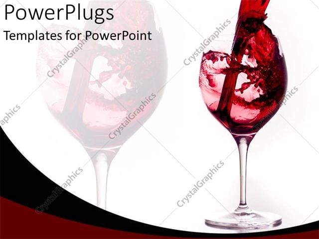 Powerpoint template start celebration with red wine glass 6587 powerpoint template displaying start celebration with red wine glass toneelgroepblik Gallery