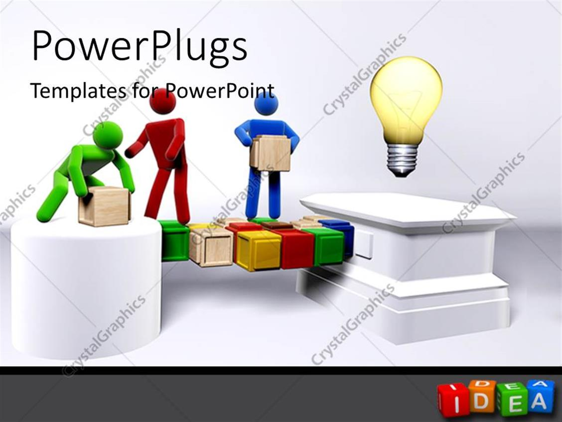 Presenter Media  PowerPoint Templates 3D Animations and