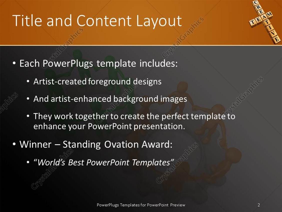team building powerpoint presentation templates gallery, Modern powerpoint